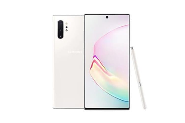 New Samsung Galaxy Note 10+ Dual SIM 256GB 4G LTE Smartphone White (FREE DELIVERY + 1 YEAR AU WARRANTY)