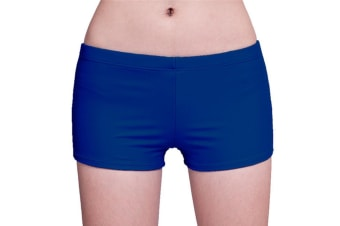 Womens Solid Swim Shorts Stretch Board Shorts Swimsuit Bottoms