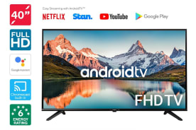 "Kogan 40"" Smart Full HD LED TV Android TV™ (Series 9, QF9000)"