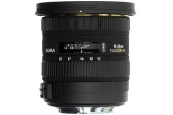 New Sigma 10-20mm F/3.5 EX DC HSM Lens (Canon)(FREE DELIVERY + 1 YEAR AU WARRANTY)