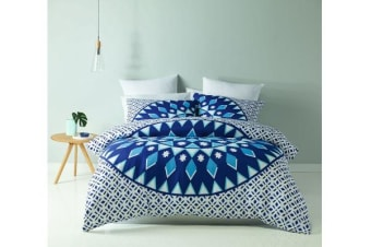 Royal Comfort  Mandala Quilt Cover Set (King, Esplanade)