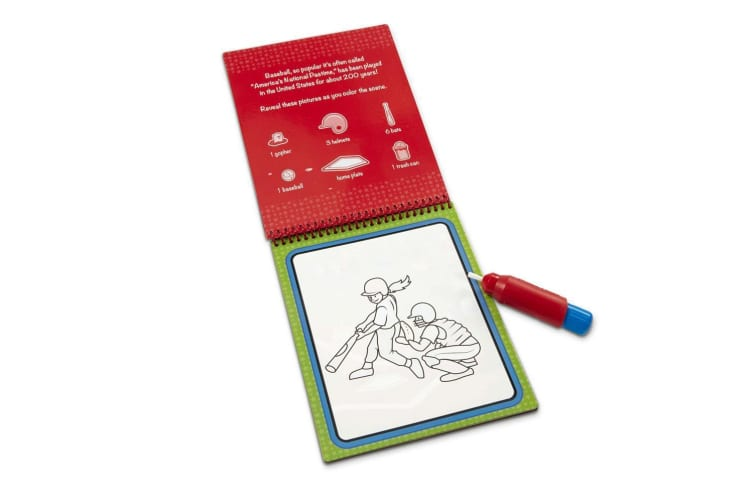Melissa and Doug On The Go Water Wow! Sports Water Reveal Pad
