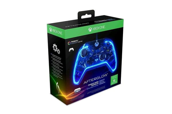 PDP Microsoft Official Licensed Afterglow Prismatic Wired Controller for Xbox One