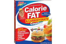 Allan Borushek's Calorie, Fat & Carbohydrate Counter 2018