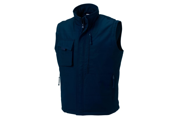 Russell Mens Workwear Gilet Jacket (French Navy) (XL)