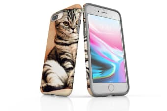 For iPhone 8 Plus Case  Protective Back Cover  Cat
