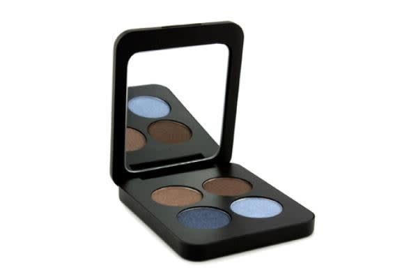 Youngblood Pressed Mineral Eyeshadow Quad - Glamour Eyes (4g/0.14oz)