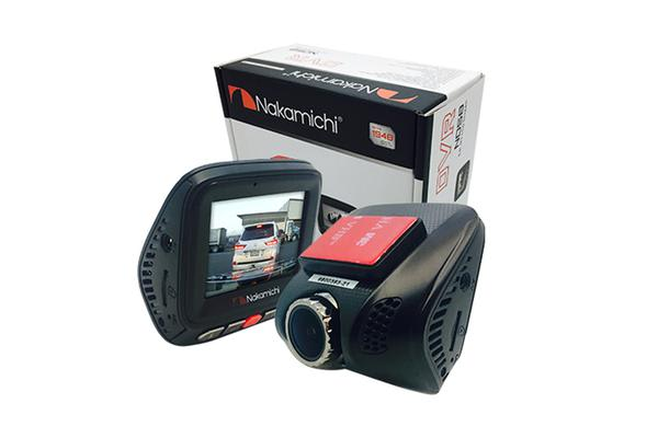 Nakamichi ND58 Single Channel Dash Cam with 140 degree Horizontal extra-wide viewing angle