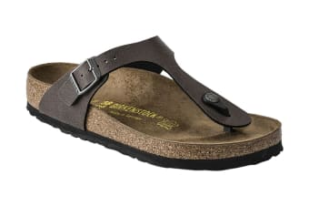 Birkenstock Gizeh BF Pull Up Sandal (Brown)