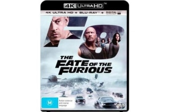 The Fate of the Furious (4K UHD/Blu-ray/UV)