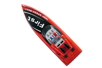 Rusco Racing Storm Chaser Boat in Red - 2.4GHz
