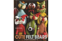 Cute Felt Bears - 20 Easy-To-Make Projects