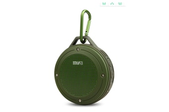 F10 Wireless Bluetooth Mini Portable Speaker  GREEN