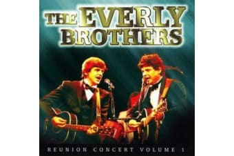 The Everly Brothers : Reunion Concert Vol. 1 BRAND NEW SEALED MUSIC ALBUM CD