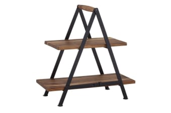 Davis & Waddell Fine Foods Two Tier Serving Stand