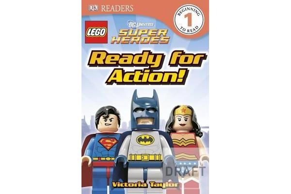 DK Readers L1 - Lego DC Super Heroes: Ready for Action!