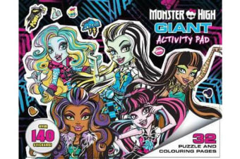 Monster High - Giant Activity Pad