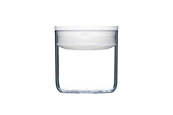 ClickClack Pantry Container 0.6L White