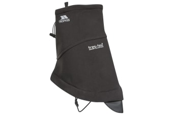 Trespass Geter Softshell Shoe Gaiters (Black) (One Size)