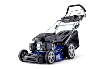 PowerBlade Lawn Mower Self Propelled 19' 165cc 4 Stroke Petrol Lawnmower Catch