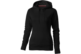 Slazenger Womens/Ladies Alley Hooded Sweater (Solid Black) (XL)