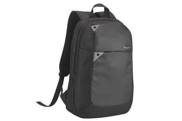 "Targus 15.6"" Backpack Notebook Bag Intellect Black Grey Polyester Very light and sturdy"