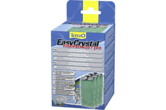 Tetra Easy Crystal No Carbon Filter 250/300 (Pack Of 3) (Green)