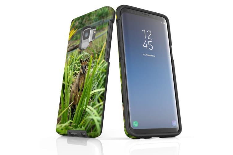 For Samsung Galaxy S9 Case Armour Cover  Hiding Wallaby