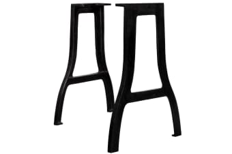 vidaXL Dining Table Legs 2 pcs A-Frame Cast Iron