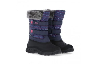 Trespass Childrens/Kids Vause Touch Fastening Snow Boots (Multi Print) (2 Youth UK)