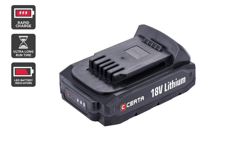 Certa PowerPlus 18V 2.0Ah Lithium Battery