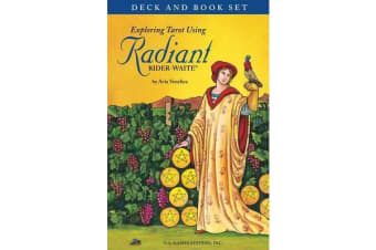 Exploring Tarot Using Radiant Rider-Waite Tarot - Deck and Book Set
