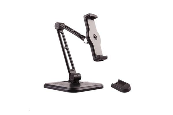 "Brateck PAD28-01 Adjustable Phone/Tablet Desktop Stand. For 4.7""12.9"" phones/tablets. Double"