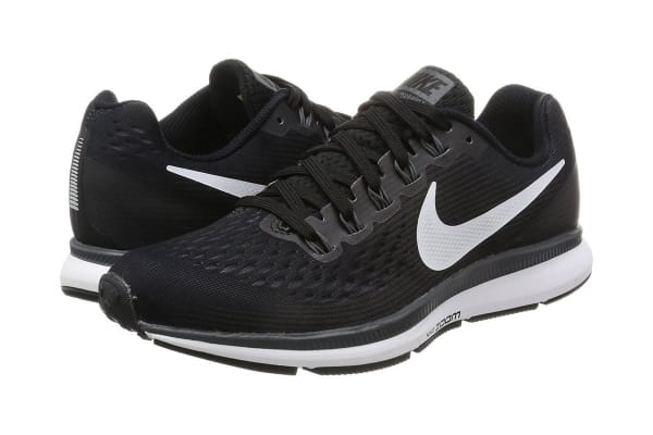 f4aae9ad2562 Nike Women s Air Zoom Pegasus 34 Running Shoe (Black White