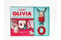 Chef Olivia Cookbook and Cookie Cutters Kit