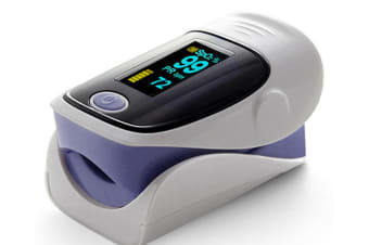 Select Mall Household Portable Finger Clip Type Pulse Oximeter LED Blood Oxygen Saturation Monitor-Purple