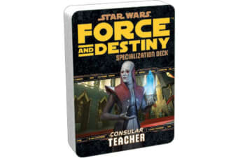 Star Wars RPG Teacher Specializaton Deck