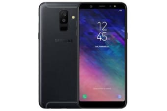 New Samsung Galaxy A6+ (2018) Dual SIM 4G 32GB Smartphone Black (FREE DELIVERY + 1 YEAR AU WARRANTY)