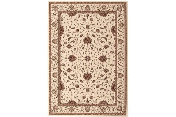 Stunning Formal Classic Design Rug Cream 170x120cm