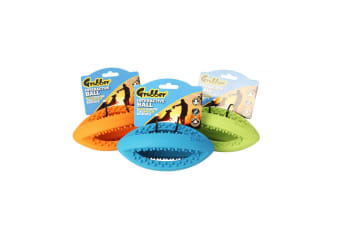 Happy Pet 1 Mini Rugby Ball Dog Toy - ASRTD (Assorted)