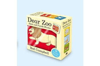 Dear Zoo Book and Puzzle Blocks