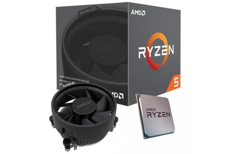 AMD Ryzen 5 3400G, 4 Core AM4 CPU, 3.7GHz 4MB 65W w/Wraith Stealth Cooler Fan RX Vega Graphics Box