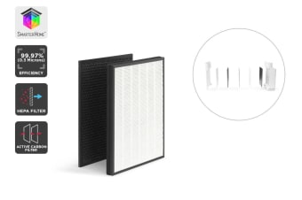 Kogan SmarterHome™ Smart­ Air Purifier Filter Set (Carbon & HEPA)