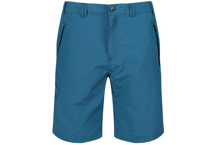 Regatta Great Outdoors Mens Leesville Quick Drying Shorts (Sea Blue) (44)