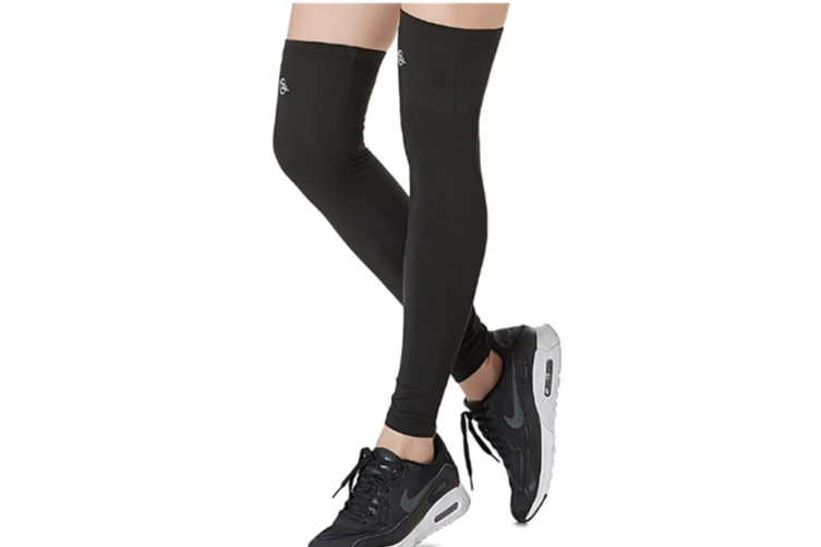 Women  Thigh High Compression Stockings For Yoga Pregnancy, Sports, Flight Travel, Shin Splints, Varicose Veins L