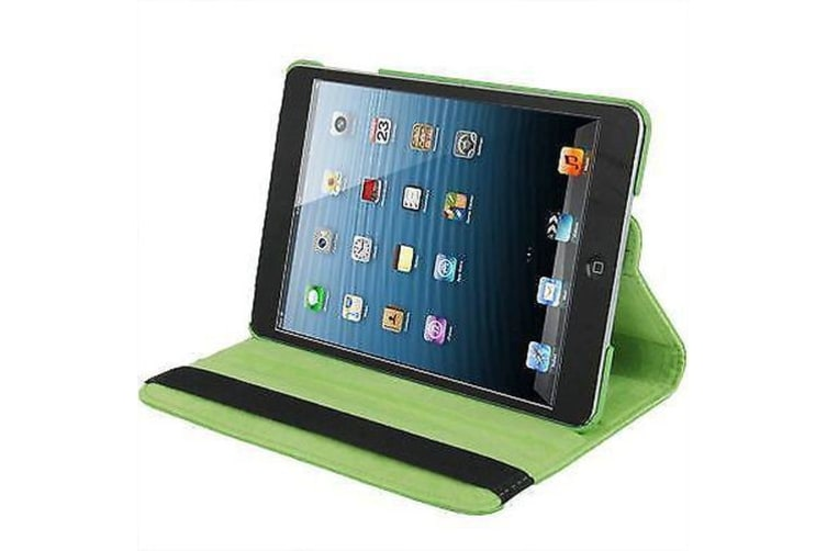 For iPad mini 1 / 2 / 3 Case  Durable High-Quality Leather Cover Green