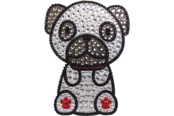 Foufou Dog Rhinestone Sticker (Pug)