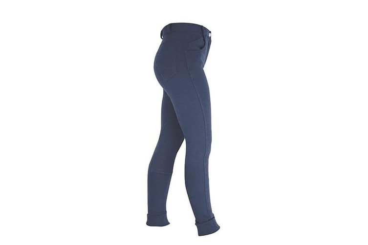 HyPERFORMANCE Childrens/Kids Milligan Jodhpurs (Navy) (18in)