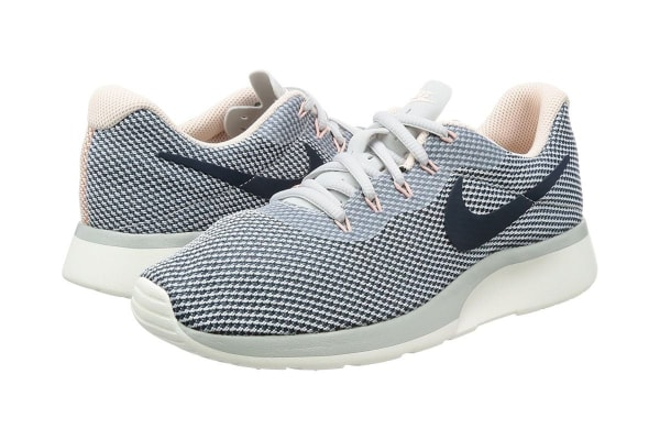 ba56a8ca1fced Dick Smith | Nike Women's Tanjun Racer Running Shoe (Platinum/Navy ...