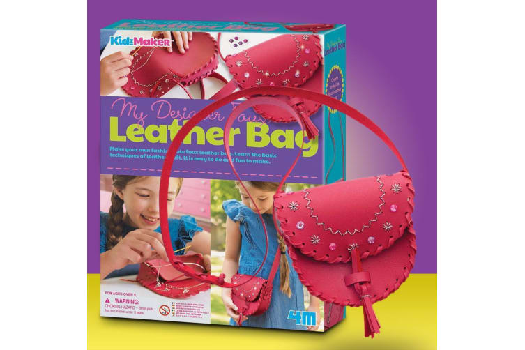 My Designer DIY Faux Leather Bag - Creative Gift for Kids